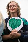 Activiste environnemental Photos stock
