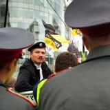 Activistes d'opposition photo libre de droits