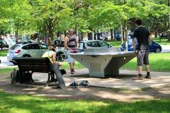 Activité d'été de Montréal Images stock