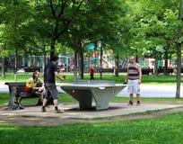 Activité d'été de Montréal Photos libres de droits