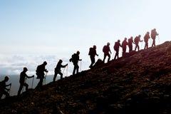 activité d'alpinisme et équipe compatible images libres de droits