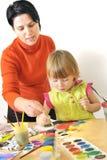 activité dans l'école maternelle Images libres de droits