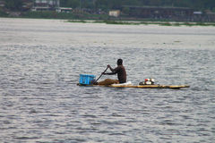 Activité de pêche Photographie stock libre de droits