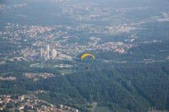 Activité de parachutage Photo stock