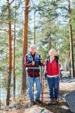 Activité de trekking Photographie stock libre de droits