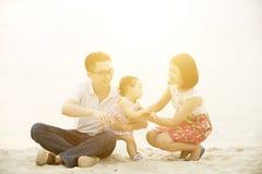 Activité en plein air de famille Photo libre de droits