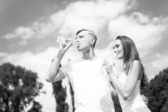Activité et énergie d'été Photographie stock libre de droits