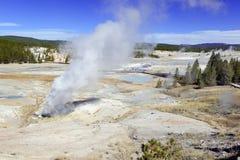 Activité géothermique au parc national de Yellowstone, Wyoming images stock
