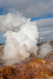 Activité géothermique - Islande Photo stock
