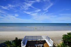 Activité sur la plage Photo libre de droits