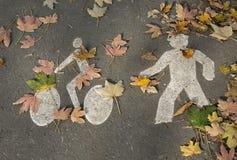 Activités d'automne Photographie stock libre de droits