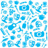 Activités d'icônes Image stock