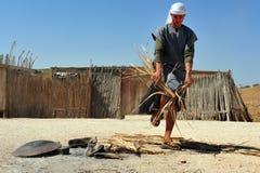 Activités de désert dans le désert Israël de Judean Photographie stock