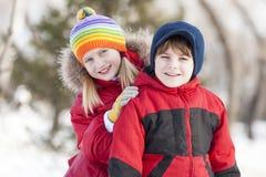 Activités de l'hiver Photographie stock