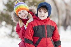 Activités de l'hiver Photographie stock libre de droits