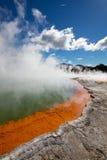 Activité géothermique Image libre de droits