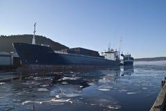 Activiteit in de haven. royalty-vrije stock foto