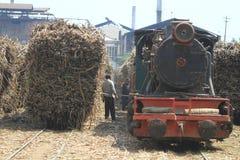 Activiteiten Voortbewegingssugar factory Stock Foto