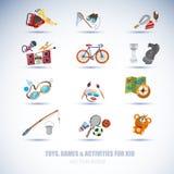 Activities icon set -  Stock Image