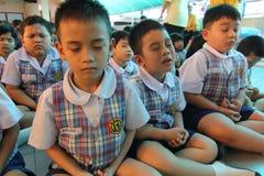 Activities Kindergarten students Royalty Free Stock Images
