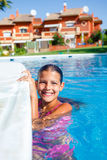 Activities on the pool Stock Images