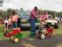 Activity at an annual agricultural event in paducah Royalty Free Stock Image