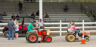 Activity at an annual agricultural event in paducah Royalty Free Stock Photography