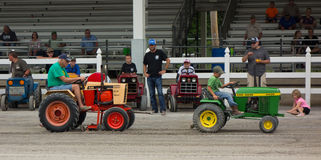 Activity at an annual agricultural event in paducah Royalty Free Stock Photo