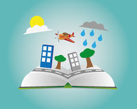 Activity book. Write down your activity here Stock Photos