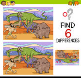 Activity of differences for kids Royalty Free Stock Photos