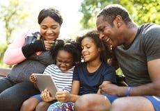 Activity Family Outdoors Vitality Healthy Concept. Activity Family Outdoors Vitality Healthy Stock Photography