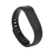 Activity fitness tracker. On white background stock photography