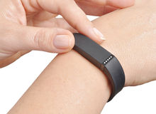 Activity fitness tracker Royalty Free Stock Image