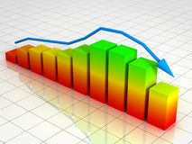 Activity graph Stock Image