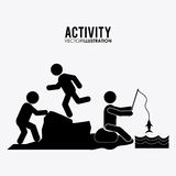 Activity icon design Stock Photography