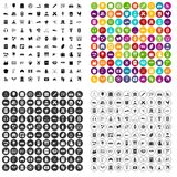 100 activity icons set vector variant. 100 activity icons set vector in 4 variant for any web design isolated on white Royalty Free Stock Image
