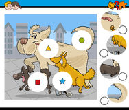 Activity for kids illustration Royalty Free Stock Image