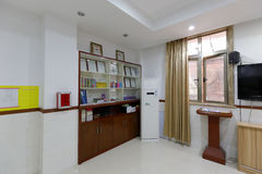 Activity room of christian jinbuli contact point Stock Photo