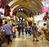 Activity and trading Grand Bazaar Istanbul Stock Image