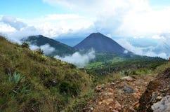 Active volcano Yzalco, El Salvador Royalty Free Stock Images
