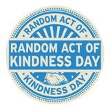 Acto al azar del día de la amabilidad Fotos de archivo