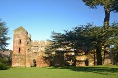 Acton Burnell Castle Lizenzfreie Stockfotografie