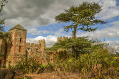 Acton Burnell Castle in Shropshire Stock Photography