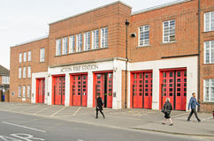 Acton Fire Station, London Royalty Free Stock Photo