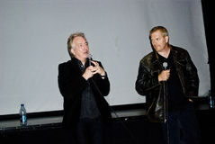 Actor Alan Rickman and Director Randall Miller Stock Image