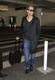Actor Alexander Skaarsgard at LAX Royalty Free Stock Photo
