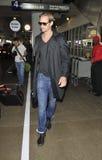Actor Alexander Skaarsgard at LAX Stock Photos