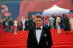 Actor Alexey Vorobyov at Moscow Film Festival Royalty Free Stock Images