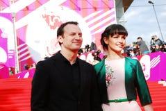 Actor Anatoliy Beliy at XXXVI Moscow International Film Festival Stock Image