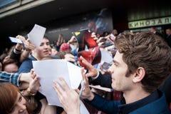 Actor Andrew Garfield Stock Images
